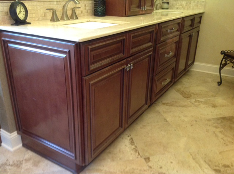 Copyright 2014 Kitchen Cabinet Discounts Walnut Creek Trina Vanity after RTA Vanity Bathroom Makeover