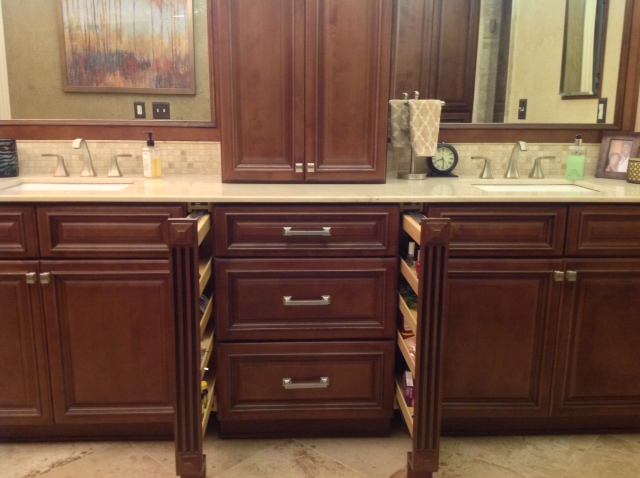 Copyright 2014 Kitchen Cabinet Discounts Trina Vanity AFTER BATHROOM MAKEOVER