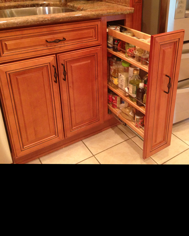 9 Inch Kitchen Base Cabinet