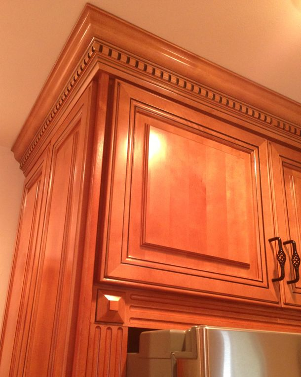 Crown molding for a basement wall ceiling joint images for Oak crown molding for kitchen cabinets