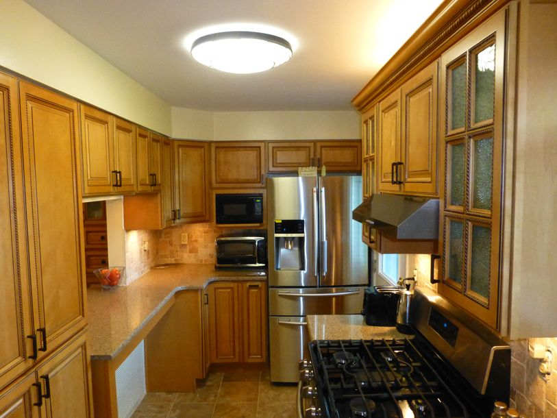 KCD 1-TE Copyright KitchenCabinetDiscountsTONY LONG SHOT FRIG BETTER RTA Kitchen Cabinet Discounts