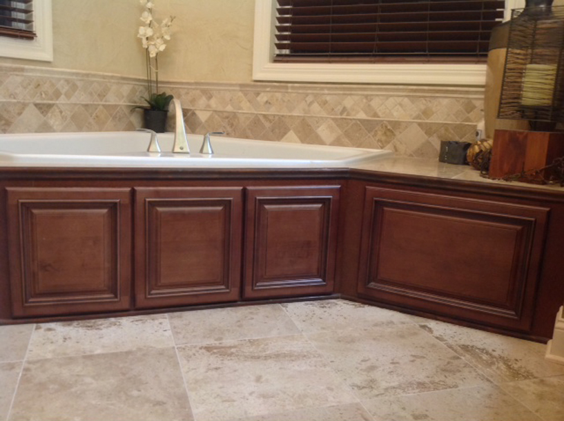 Copyright 2014 Kitchen Cabinet Discounts TUB AFTER Kitchen Cabinet Discounts Bathroom Makeover