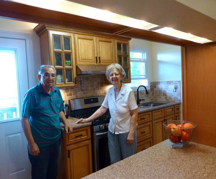KCD TE Copyright Kitchen Cabinet Discounts RTA Kitchen Makeover Cabinets TONY & ELEANOR PASS THROUGH