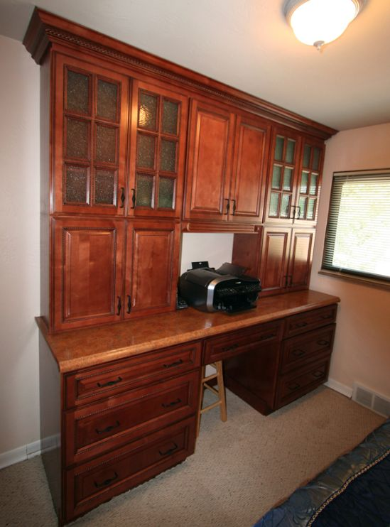 Copyright Kitchen Cabinet Discounts RTA cabinets in study side NAPA VALLEY BORDEAUX RTA CABINETS