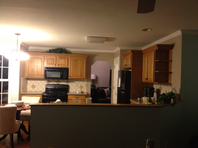 Copyright Kitchen Cabinet Discounts BEFORE Karen S. RTA Kitchen Cabinet Discounts RTA Kitchen Makeovers