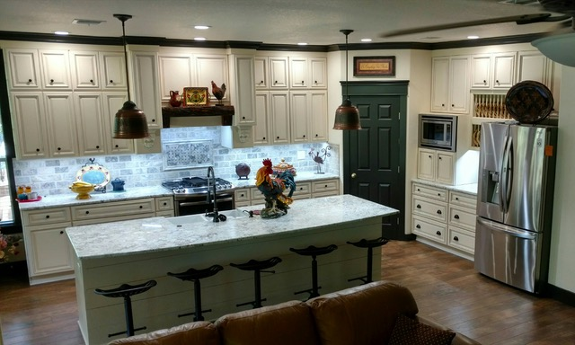 COPYRIGHT Kitchen Cabinet Discounts AFTER RTA Kitchen Makeover Pearl Creek and Walnut Creek