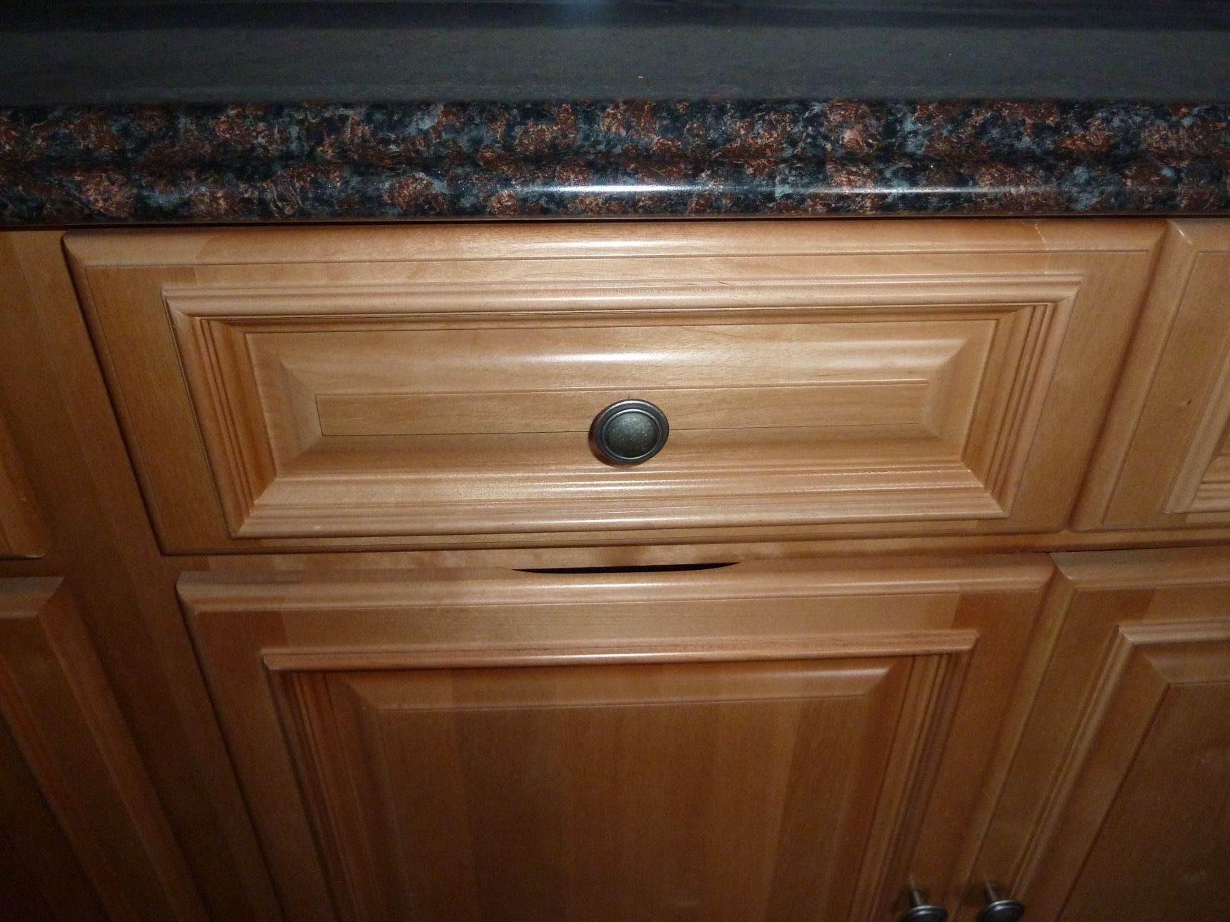 Marvelous photograph of Beautiful Kitchen Golden Oak Cabinets   Search Oak Cabinets  with #673F1F color and 1721x1291 pixels
