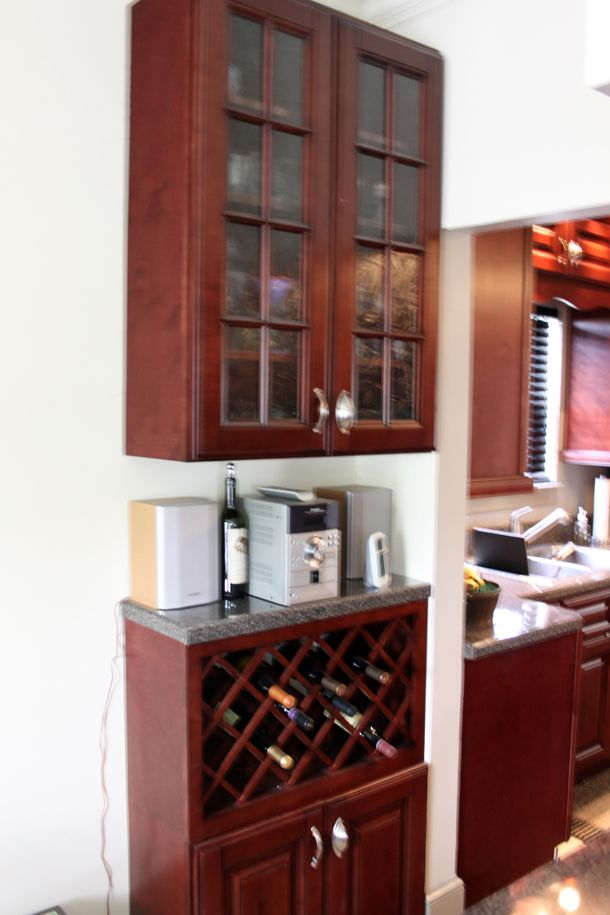 Informations A Way To Construct A Lattice Wine Rack In Cabinet