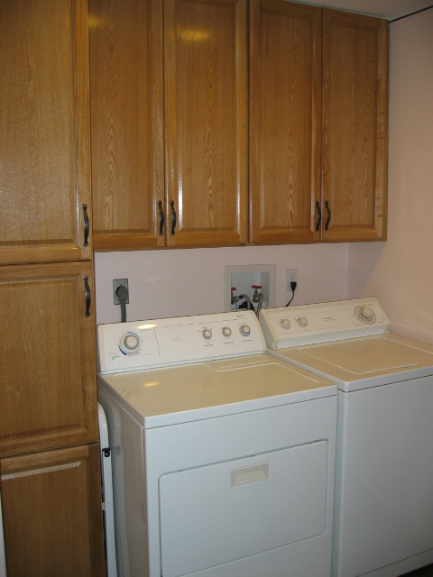 KCD John's Laundry Washer Dryer Copyright Kitchen Cabinet Discounts
